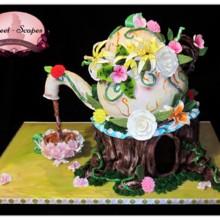220x220 sq 1432773795644 teapot cake w logo