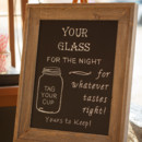 At the end of the evening, guests took home mason jar favors.  Venue:Shady Wagon Farm  Event Planner:Happily Ever After