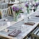 The reception took place underneath a tent.  Venue/Caterer: Blooming Hill Farm  Event Planner: Jeanne Stark ofHudson Valley Ceremonies  Rentals:Events Unlimited