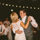 The couple danced together for the first time as a married couple in front of 250 family members and friends.  Bridal Gown: Watters purchased at Miss Ruby Boutique  Hair Stylist: Salon 323  Groom & Groomsmen Attire: Men's Wearhouse  Reception Venue, Caterer & Rentals: Pine Grove Country Club  Reception Music: Platinum