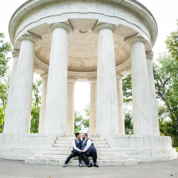 Washington Dc War Memorial Wedding Wedding Real Weddings