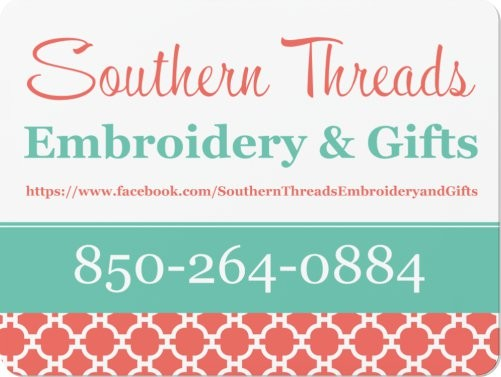 Southern Threads Embroidery Gifts Llc Favors Gifts