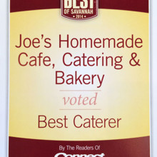 220x220 sq 1431270515655 best caterer savannah joes homemade 1