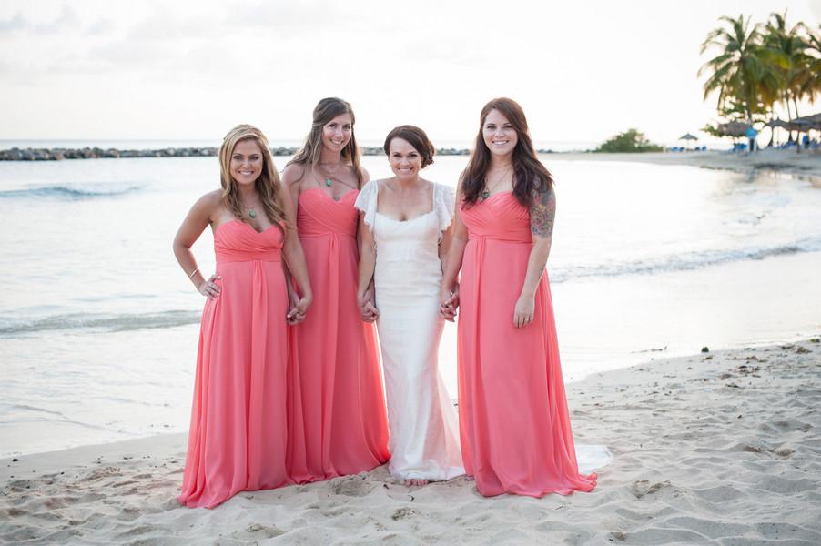 Bright Destination Beach Wedding, Wedding Real Weddings Gallery by ...