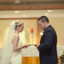 Emily and Jimmy exchanged vows in front of family and friends.  Venue:Martha Clara Vineyards  Dress Store:Bridal Reflections  Makeup Artist:Makeup by Megan  Groom and Groomsmen Attire:RSVP Tuxedos  Floral Designer:Sugar Magnolias