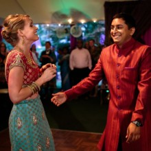 "<strong class='info-row'>Hopkins Studios</strong> <div class='info-row description'><html>  <head></head>  <body>    The dance floor was packed all night long. Plus, there may or may not have been a special surprise Bhangra.   DJ:    <a href=""http://www.weddingwire.com/biz/boston-sound-and-light-company-dj-yogz-billerica/a77747c26a862278.html?utm_source=ww&utm_medium=photo-gallery&utm_campaign=real-weddings"" target=""_blank"">Boston Sound and Lighting Company -DJ Yogz</a>   </body> </html></div>"