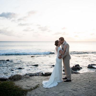 Bright Destination Beach Wedding Wedding Real Weddings