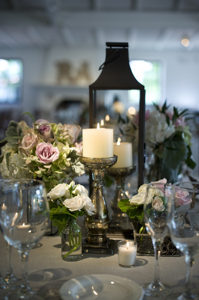Green pink white arizona centerpiece centerpieces greenery hydrangea tables were decorated with white linens and napkins vintage vase and vessel centerpieces mercury junglespirit Image collections