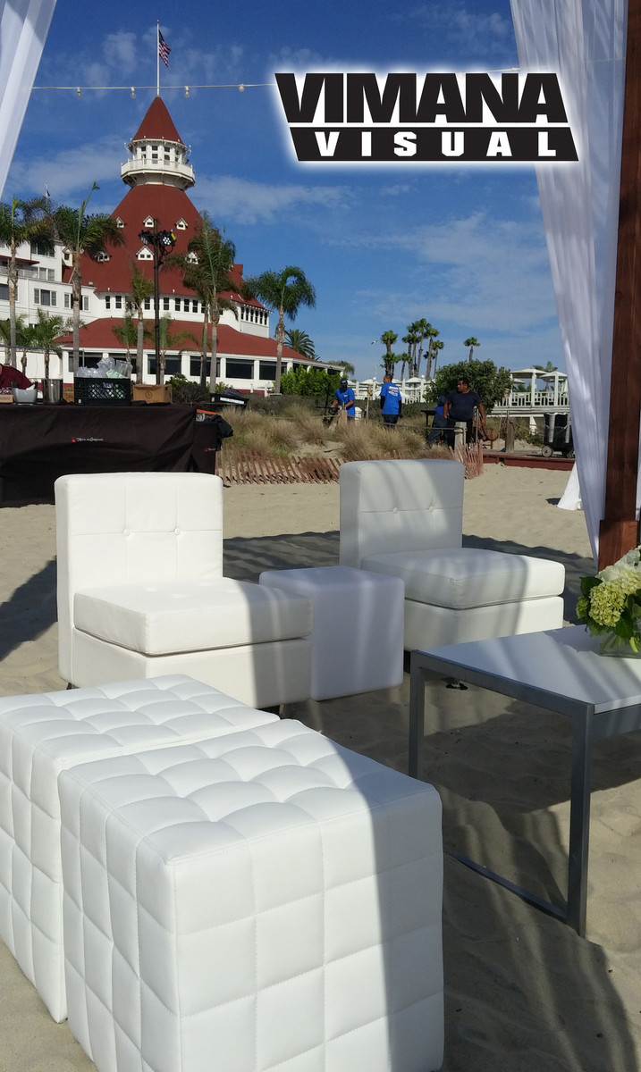 Vimana Visual Lounge Furniture Rental Wedding Event