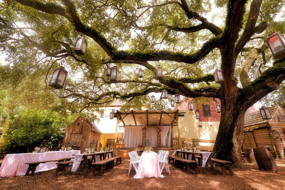 Saint Augustine FL Weddings At Colonial Quarters