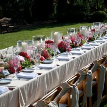 220x220 sq 1456929872072 outdoor wedding decoration ideas for table