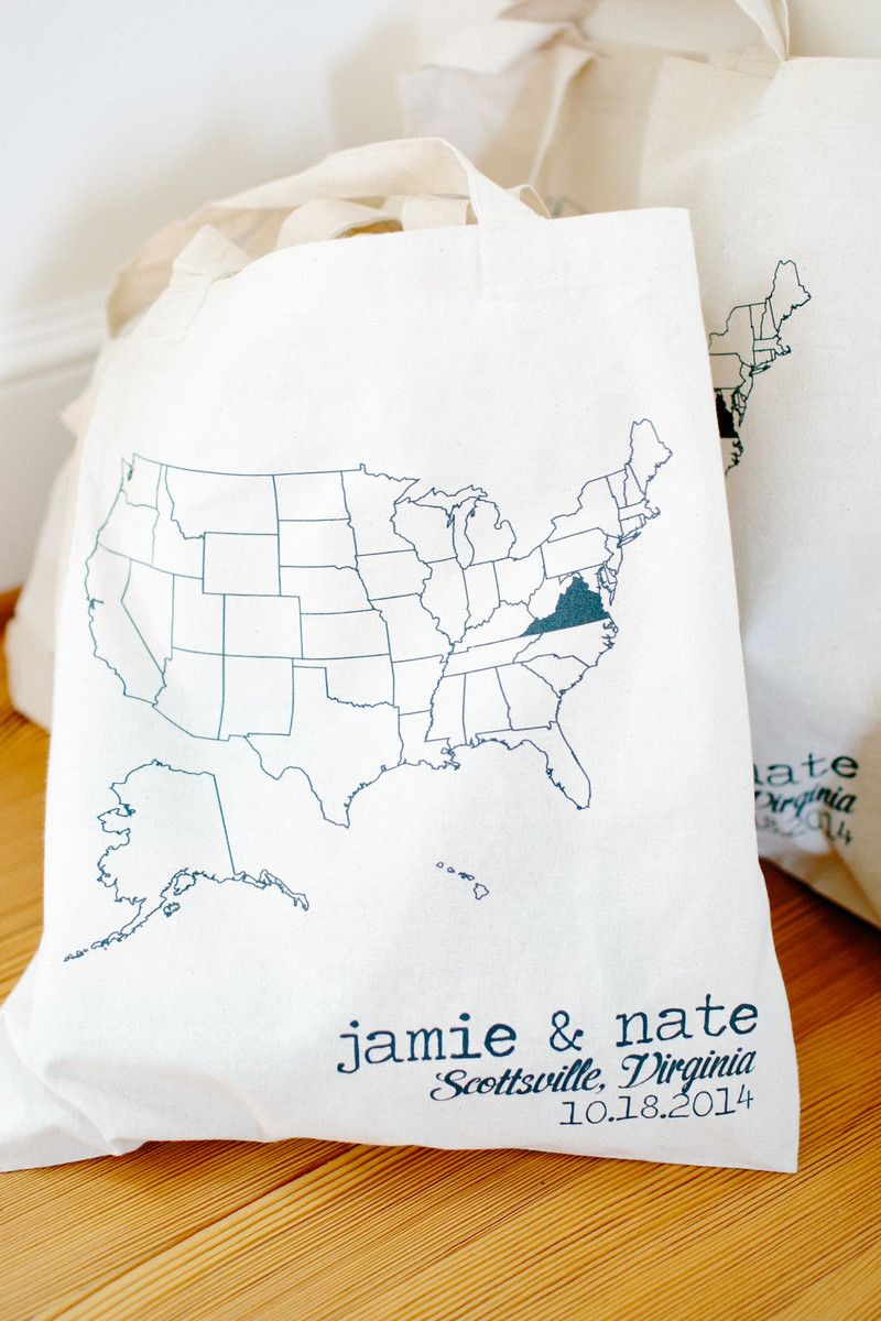 Fall Virginia Welcome Bags Wedding Favors Photos & Pictures ...