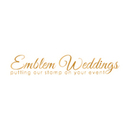 130x130 sq 1453328448 cde84b13f8352852 29617 emblem weddings logo 2