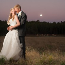 220x220 sq 1466023725346 flagstaff wedding couple full moon