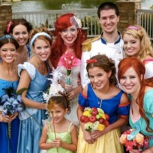 220x220 sq 1466023846432 themed disney wedding