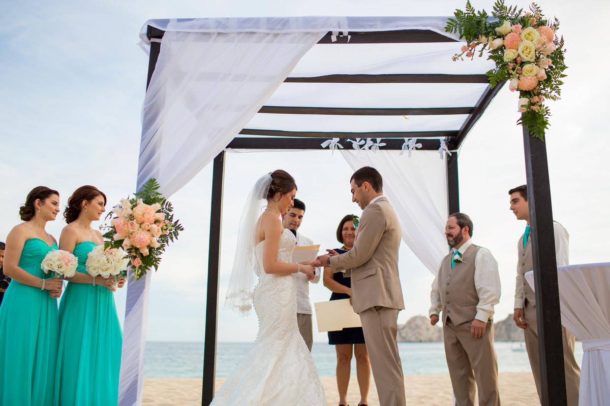 The villa group beach resort spa cabo san lucas venue for Wedding dress rental san jose