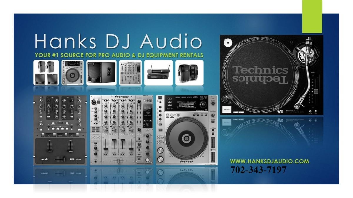 Hank S Dj Audio Equipment Rental Event Rentals Las