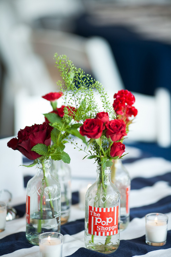 Navy and Red Summer Kansas Wedding , Wedding Real Weddings Gallery ...