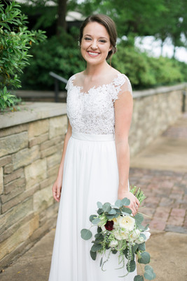 Stylish alabama warehouse wedding wedding real weddings for Wedding dresses montgomery al