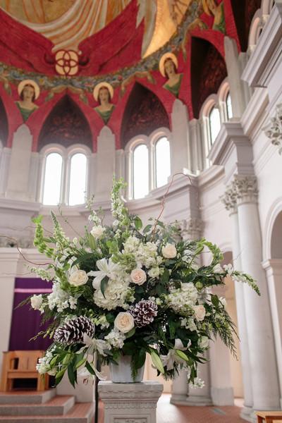 louisiana wedding flowers arrangement