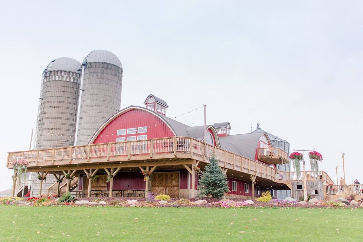 The Barn On Stoney Hill Venue Cornell Wi Weddingwire