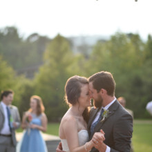 "<strong class='info-row'>Thirteenth Moon Photography LLC</strong> <div class='info-row description'><html>  <head></head>  <body>    Everyone surrounded the newlyweds for their first dance.   Reception Venue:    <a href=""http://www.weddingwire.com/reviews/the-village-green-cashiers/4b707e7bc0582709.html"" target=""_blank"">The Village Green</a>  Dress Designer:    <a href=""http://www.weddingwire.com/biz/demetrios-lake-grove-scottsdale/44433c4cef764c18.html"" target=""_blank"">Demetrios</a> from Brides by Demetrios   Band: Flat Land    </body> </html></div>"