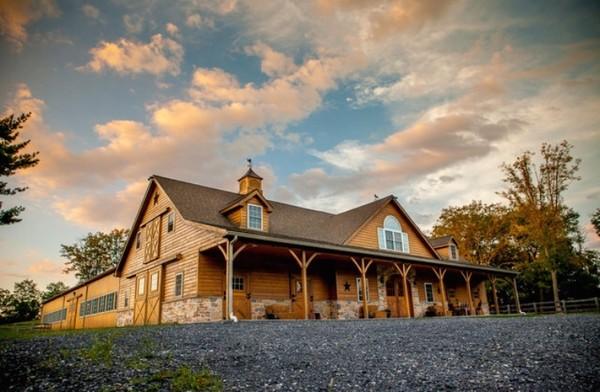 Evergreen Hideaway Barn Venue - New Tripoli, PA Wedding Venue