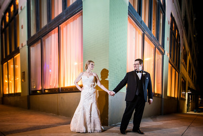 Black Tie St Louis Loft Wedding Wedding Real Weddings
