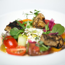 220x220 sq 1483996609764 menu   vermont burrata with heirloom tomatoes