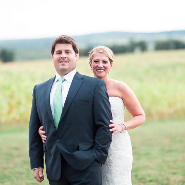 Camille Kostek Maggie Inc: Green And Pink New York Wedding, Wedding Real Weddings