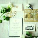 130x130 sq 1462379410181 elegant navy wedding inspiration bow ties and bubb