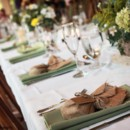 130x130 sq 1367014660705 klauder.matlock head table green napkin   credit brynne torres