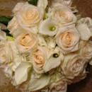 130x130 sq 1424378677866 white hydrange and calla lilly bouquet