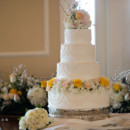 130x130 sq 1422774840213 white buttercream wedding cake