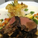 130x130 sq 1447102377608 beef tenderloin with wild mushroom ragout and yuko
