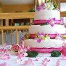 130x130 sq 1349410950185 pinkweddingcake
