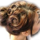 130x130 sq 1219375430745 brownupdo