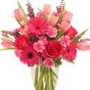 130x130 sq 1485536425237 sweet pink mystique arrangement va03716.425