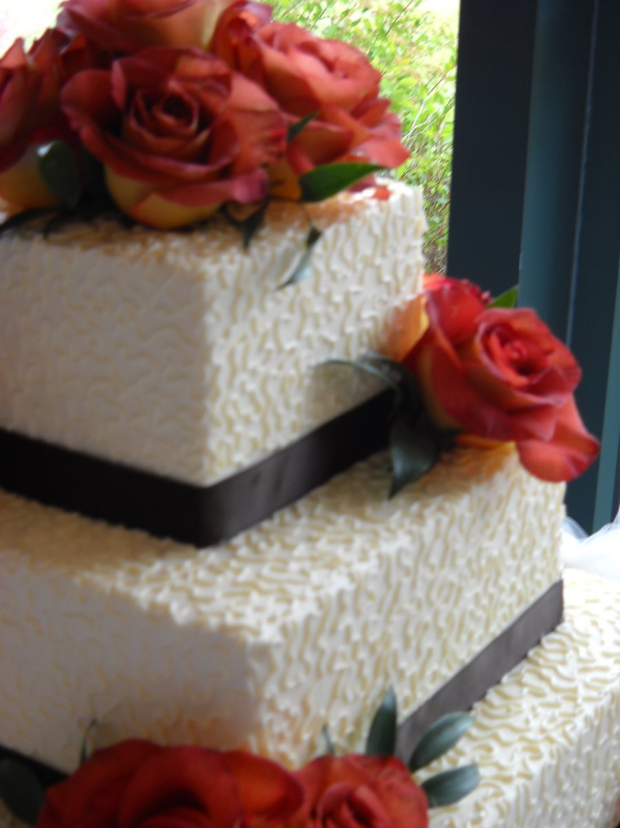 The Cakery Wedding Cake Dayton OH WeddingWire
