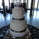 130x130 sq 1451517536126 weddingcakerosettesribbonwatermarked