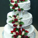 130x130 sq 1424837140991 wedding cake with fresh roses 008.tif