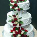 130x130 sq 1424837140991 wedding cake with fresh roses 008.tif