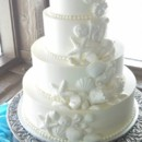 130x130 sq 1460579454992 wedding cake   buttercream with white chocolate sh