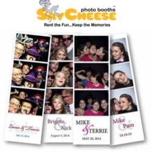 220x220 sq 1470945090990 say cheese photo booth cincninnati photo strip log