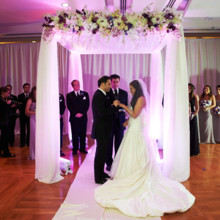 220x220 sq 1484170361205 bride and groom at chuppah