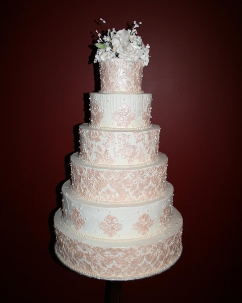 stencils for wedding cakes the cake guys wedding cake 20523