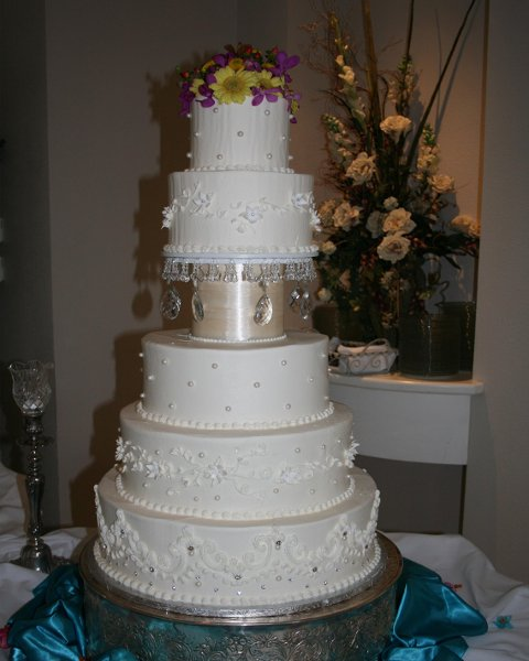 The Cake Guys Dallas TX Wedding Cake