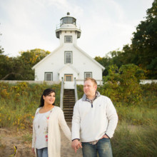 220x220 sq 1474514307200 traverse city engagement session 012