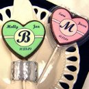 130x130 sq 1218341133527 weddingfavor,chocolateweddingfavor,monogramlollipopweddingfavor(2)
