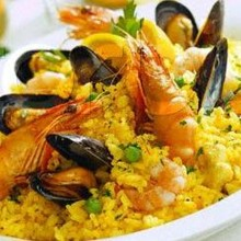 220x220 sq 1415974889322 chicken chorizo or seafood paella
